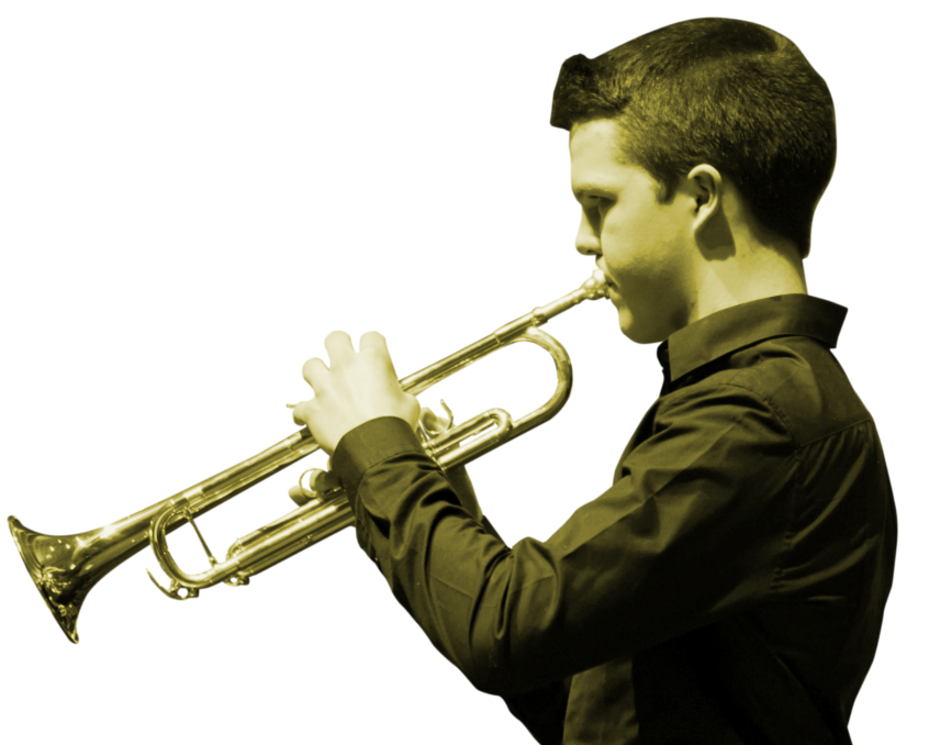 Boy with trumpet | Cork | Music School